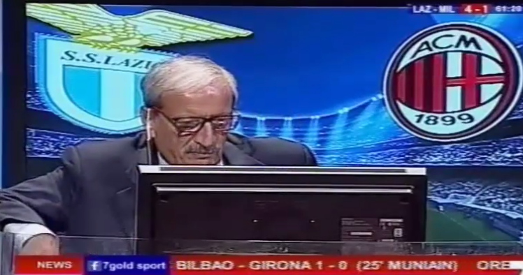Lazio vs Milan 4-1 Telecronaca di Tiziano Crudeli [10/09 ...